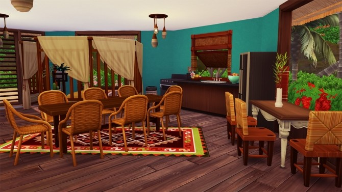 TINY HOME (island living) at Celinaccsims image 846 670x377 Sims 4 Updates