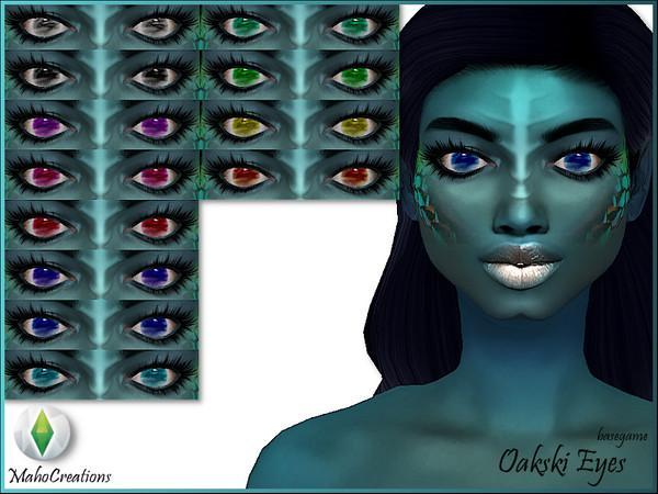 Sims 4 Oakski Eyes by MahoCreations at TSR