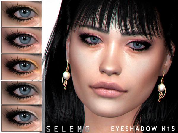 Sims 4 Eyeshadow N15 by Seleng at TSR