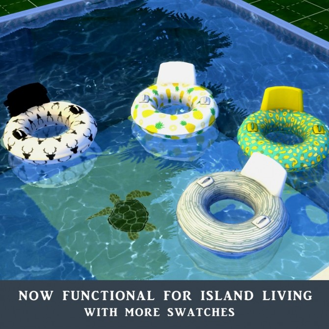 Sims 4 Floats at Leo Sims
