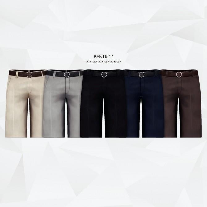 Sims 4 Pants 17 (Pants Merge Package Update) at Gorilla