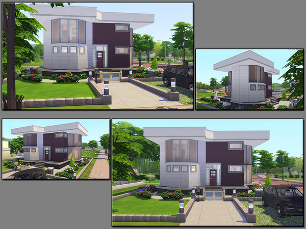 Sims 4 MB Good Fellow house by matomibotaki at TSR