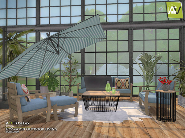 Dogwood Outdoor Living by ArtVitalex at TSR image 888 Sims 4 Updates