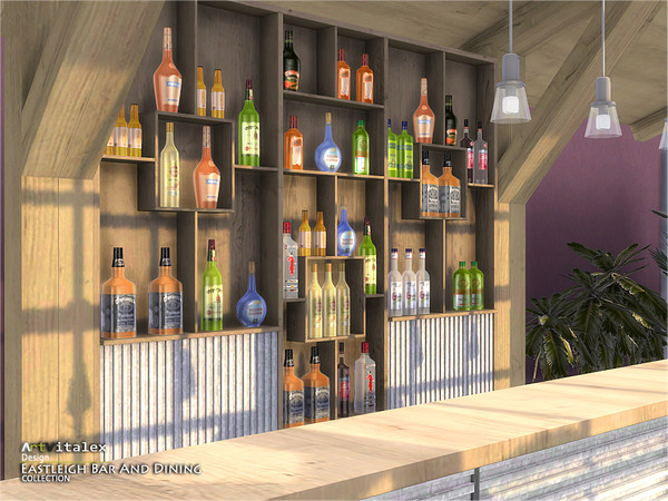 Eastleigh Bar And Dining by ArtVitalex at TSR image 889 Sims 4 Updates