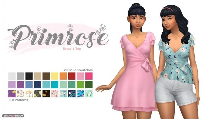 Primrose Dress & Top at SimLaughLove image 8916 670x384 Sims 4 Updates