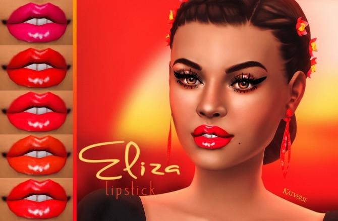 Sims 4 Eliza Lipstick at Katverse