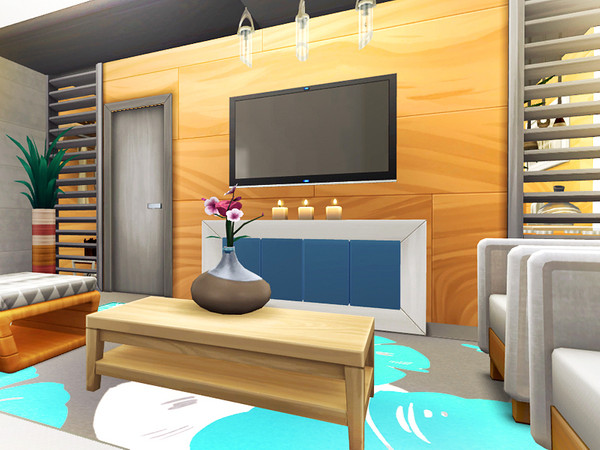 Dale contemporary house by Rirann at TSR image 9102 Sims 4 Updates