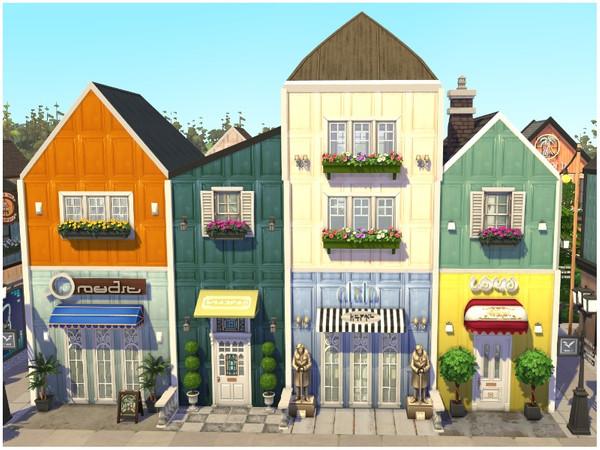 RAINBOW VILLAGE PART 3 by lotsbymanal at TSR image 912 Sims 4 Updates