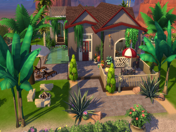 The Simple Life off grid home by LJaneP6 at TSR image 92 Sims 4 Updates