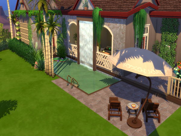 The Simple Life off grid home by LJaneP6 at TSR » Sims 4 Updates