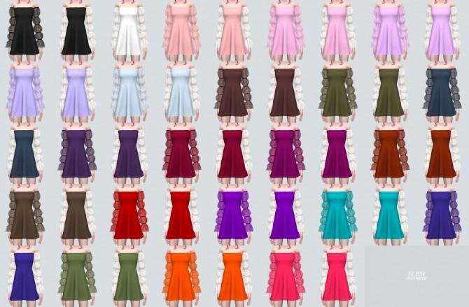 Fantastic Mini Dress (P) at Marigold image 9310 670x439 Sims 4 Updates