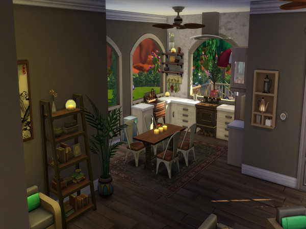 The Simple Life off grid home by LJaneP6 at TSR image 95 Sims 4 Updates