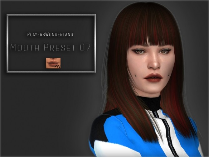 Mouth Preset 07 at PW's Creations image 9510 670x504 Sims 4 Updates