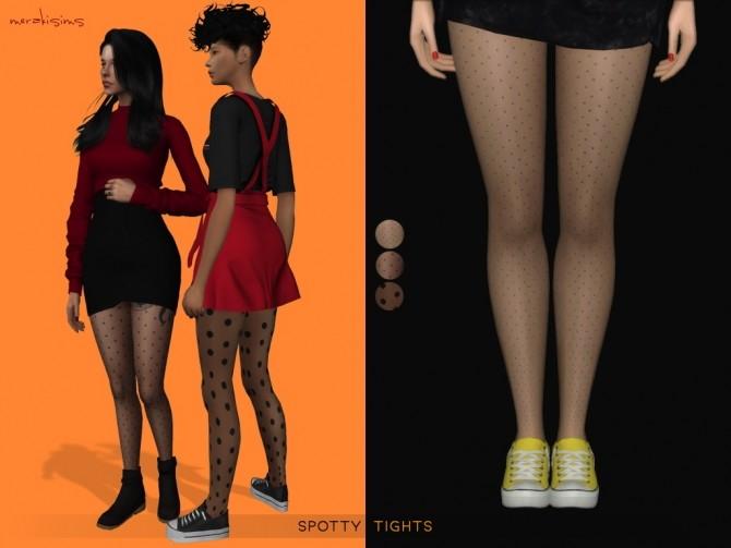 Sims 4 Spotty Tights at Merakisims