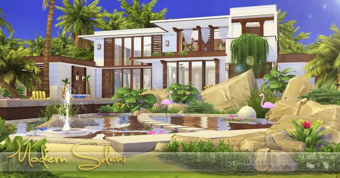 Modern Sulani House At Lorelea 187 Sims 4 Updates