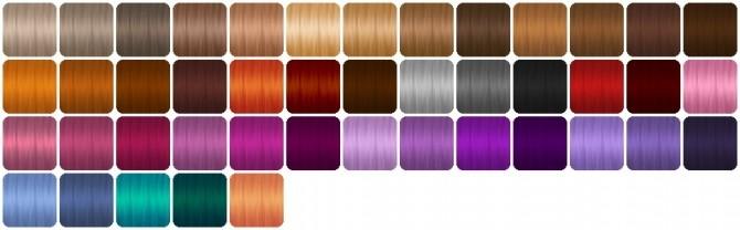 Colores Urbanos hair retextures at Heartfall image 10014 670x208 Sims 4 Updates