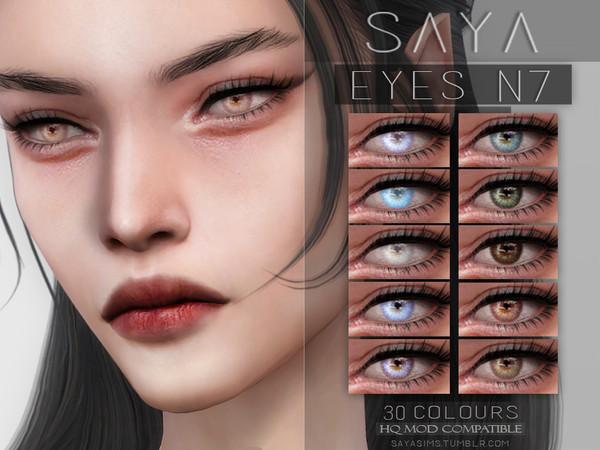 Eyes N7 by SayaSims at TSR image 1013 Sims 4 Updates