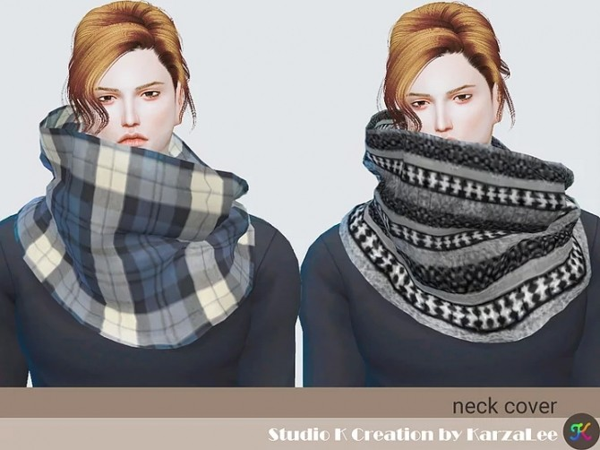 Sims 4 Neck cover at Studio K Creation