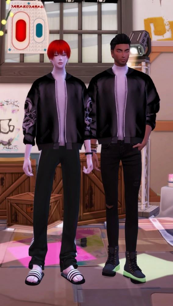Short bomber jacket at Chaessi image 1025 567x1000 Sims 4 Updates