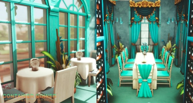 Sims 4 Container Dinner at Helga Tisha