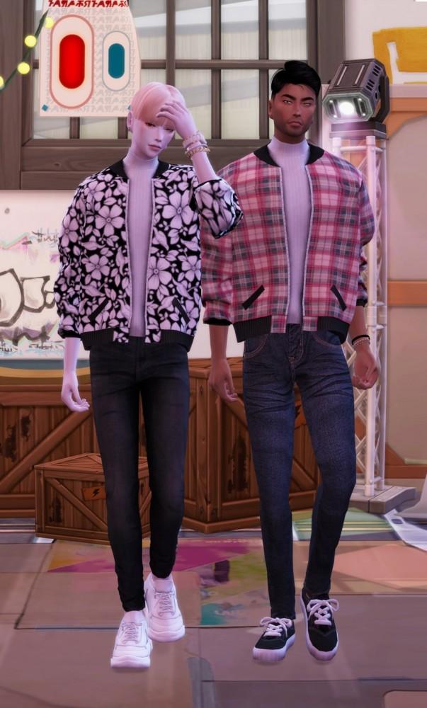 Short bomber jacket at Chaessi image 1035 603x1000 Sims 4 Updates