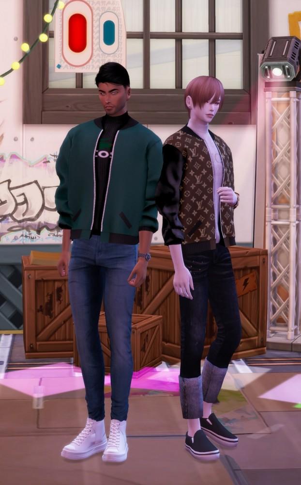 Short bomber jacket at Chaessi image 1045 622x1000 Sims 4 Updates