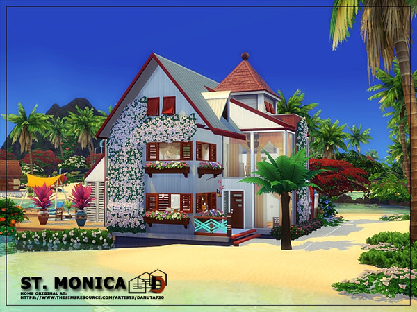 ST. Monica house by Danuta720 at TSR image 1049 Sims 4 Updates