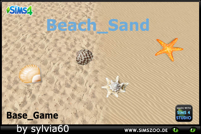 Beach Sand by sylvia60 at Blacky's Sims Zoo image 105 Sims 4 Updates