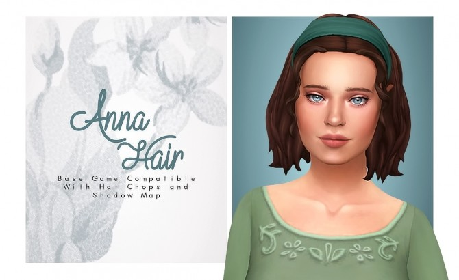 Anna Hair at Isjao – working on uni image 1055 670x410 Sims 4 Updates