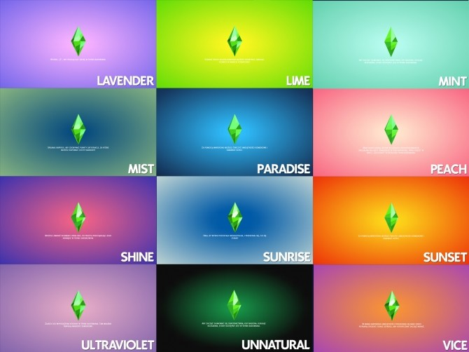 Custom Color Loading Screen by Ahinana at Mod The Sims image 1058 670x502 Sims 4 Updates