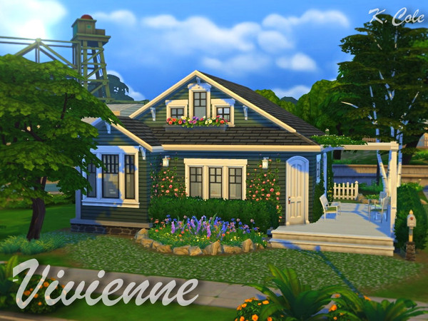 Vivienne Cottage by K.Cole at TSR image 1080 Sims 4 Updates