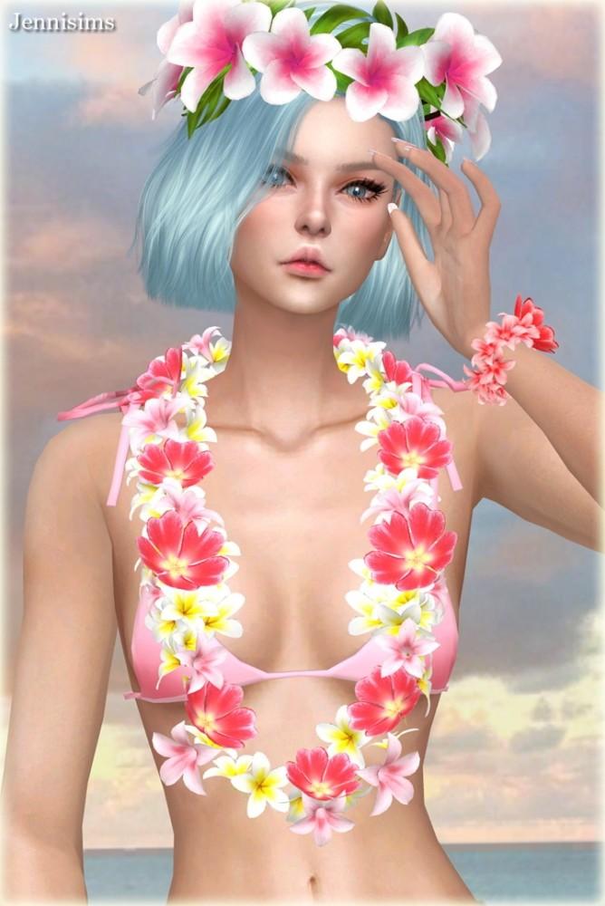Sims 4 Collection Acc Garden Girl at Jenni Sims
