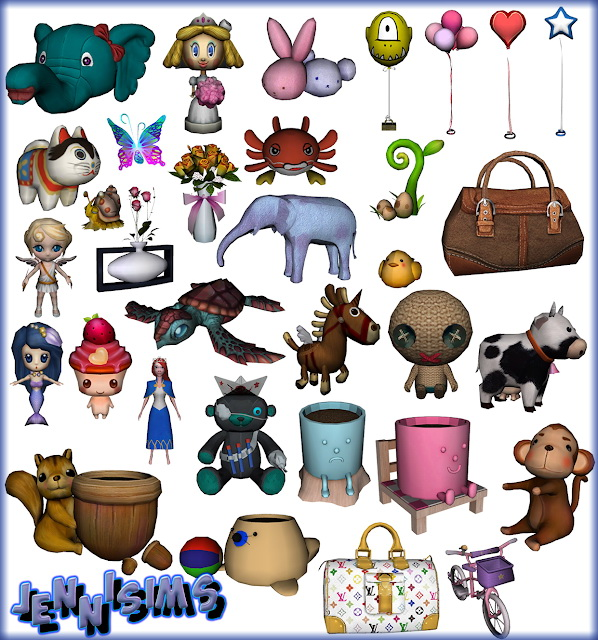 Sims 4 Decorative Saying Goodbye 32 Items at Jenni Sims