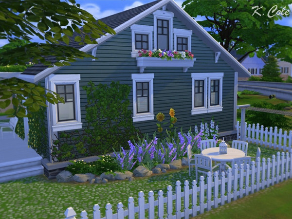 Vivienne Cottage by K.Cole at TSR image 11100 Sims 4 Updates