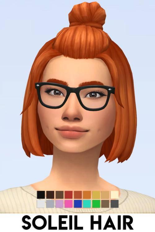 SOLEIL HAIR at Vikai image 11115 Sims 4 Updates