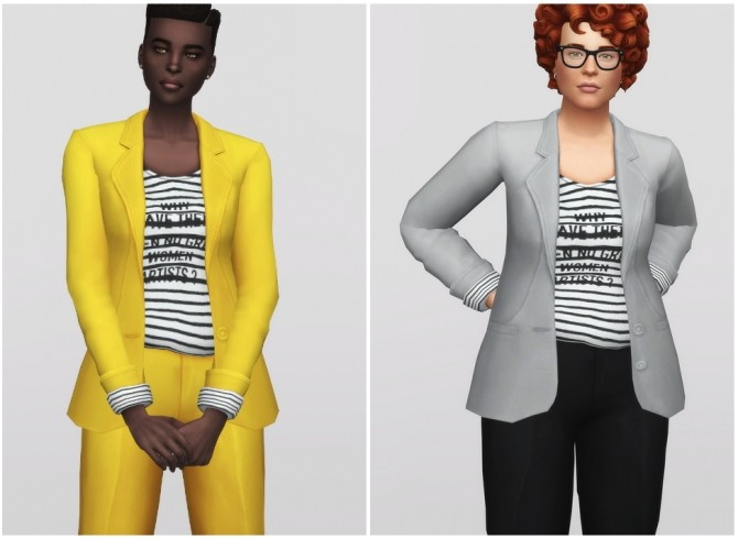 Sims 4 Power of Suit at Rusty Nail