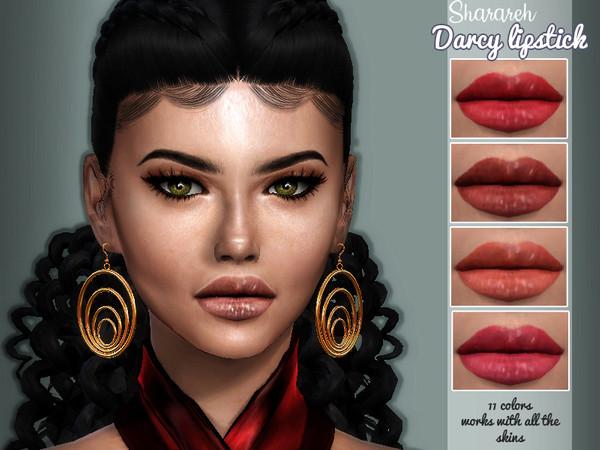 Sims 4 Darcy lipstick by Sharareh at TSR