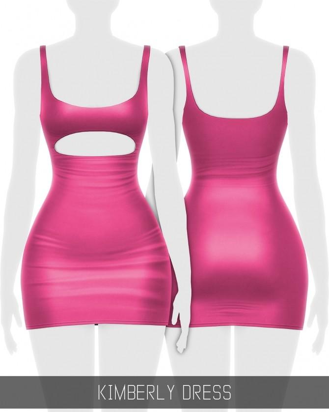 Sims 4 KIMBERLY DRESS at Simpliciaty