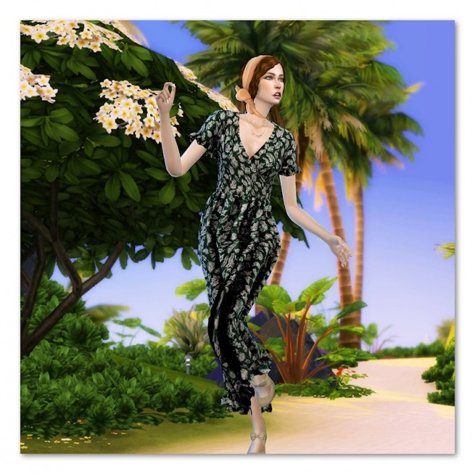 Sims 4 Zoé Marie by Cedric13 at L'univers de Nicole
