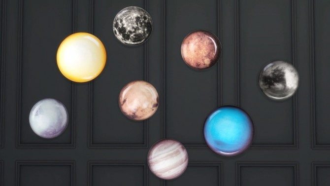 COSMIC PLATES COLLECTION at Meinkatz Creations image 1244 670x377 Sims 4 Updates