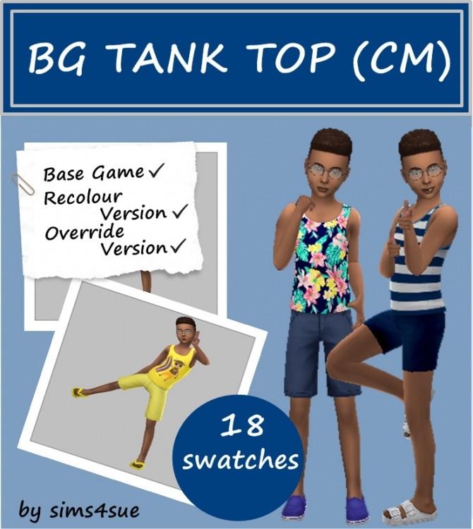 Sims 4 BASE GAME TANK TOP (CM) at Sims4Sue