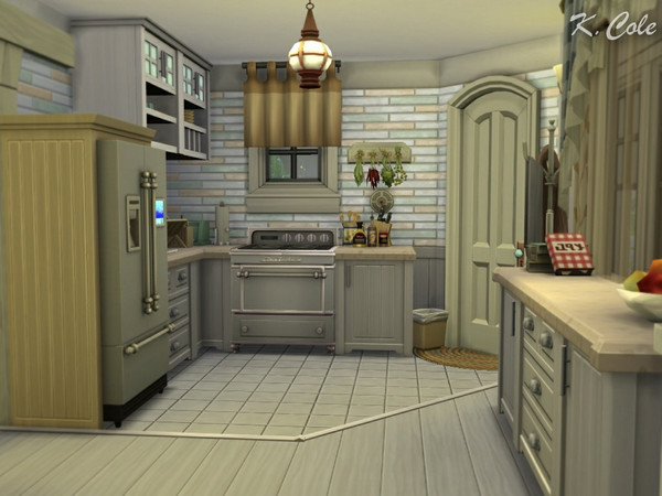 Sims 4 Vivienne Cottage by K.Cole at TSR
