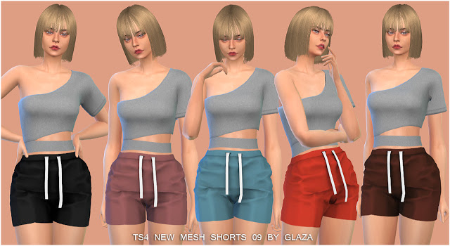 Shorts 09 at All by Glaza image 12710 Sims 4 Updates