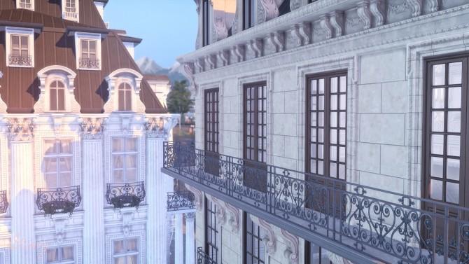 Sims 4 Parisian Inspired Cafe at GravySims