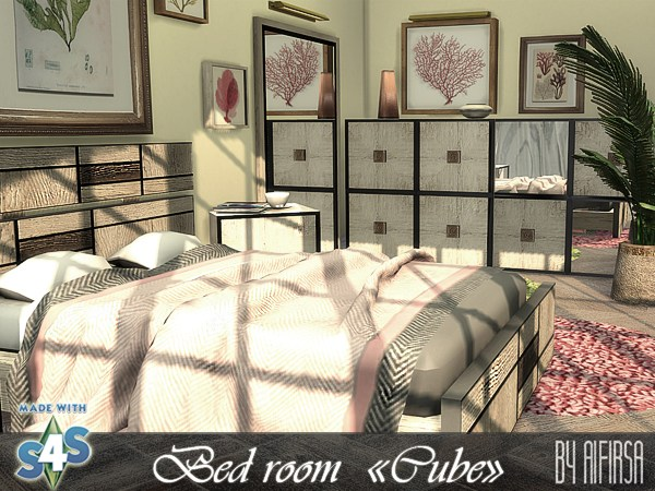 Cube bedroom at Aifirsa image 12910 Sims 4 Updates