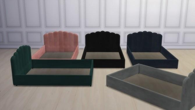 DELIA BED at Meinkatz Creations image 1293 670x377 Sims 4 Updates