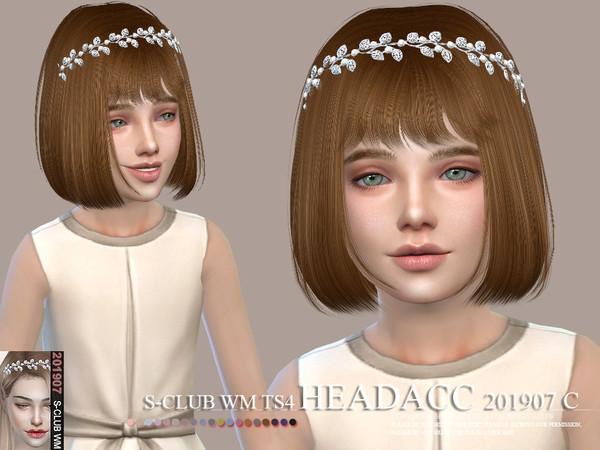Sims 4 Headacc 201907 Child by S Club WM at TSR