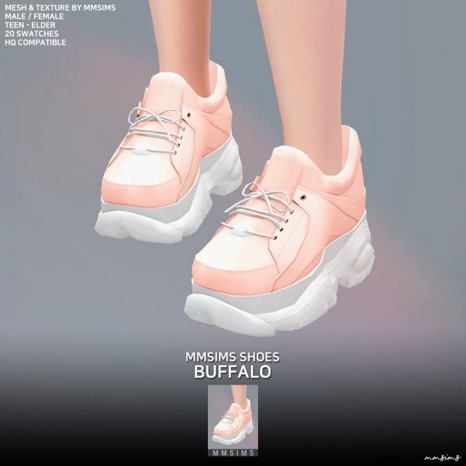 Buffalo Sneakers at MMSIMS image 13010 670x670 Sims 4 Updates