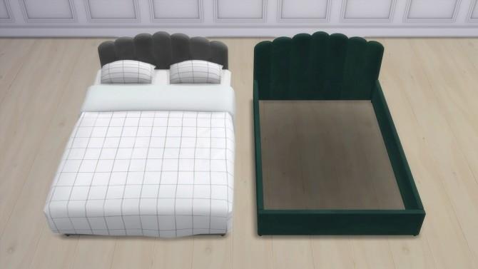 DELIA BED at Meinkatz Creations image 1304 670x377 Sims 4 Updates