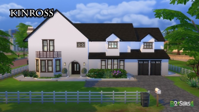 Sims 4 Kinross house by Brunnis 2 at Mod The Sims